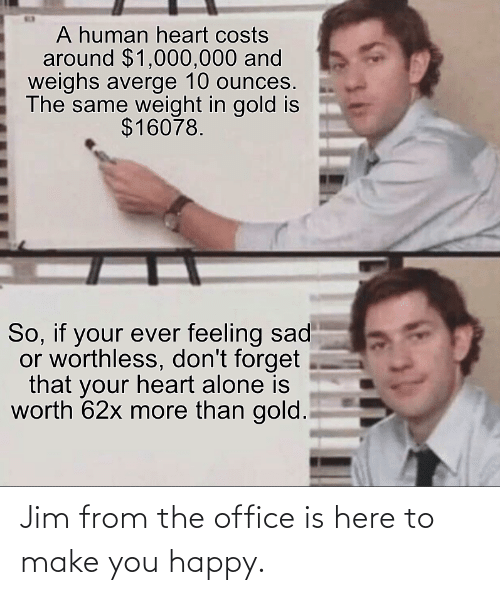 The Office: Jim from the office is here to make you happy.