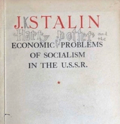 Socialism, Economic, and  Problems: JKSTALIN  the  ECONOMIC PROBLEMS  OF SOCIALISM  IN THE U.S.S.R.