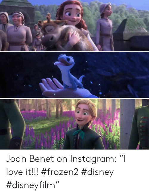 "Disney, Instagram, and Love: Joan Benet on Instagram: ""I love it!!! #frozen2 #disney #disneyfilm"""