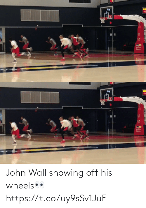 john: John Wall showing off his wheels👀 https://t.co/uy9sSv1JuE