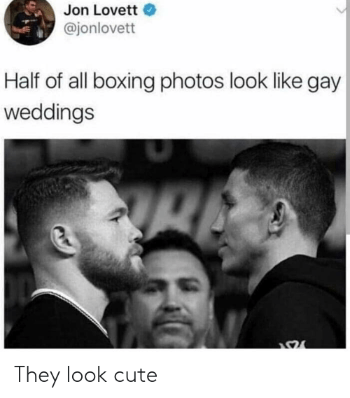 Boxing: Jon Lovette  @jonlovett  Half of all boxing photos look like gay  weddings They look cute