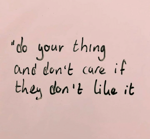 "Don, Thing, and Then: jour thing  and don't care if  ""do  then don 't lile it"