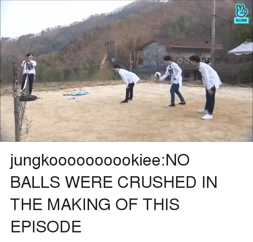 Tumblr, Blog, and Com: jungkoooooooookiee:NO BALLS WERE CRUSHED IN THE MAKING OF THIS EPISODE