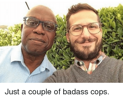 Memes, Badass, and 🤖: Just a couple of badass cops.