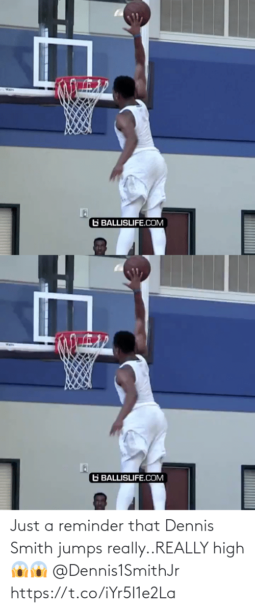 just: Just a reminder that Dennis Smith jumps really..REALLY high 😱😱  @Dennis1SmithJr https://t.co/iYr5I1e2La