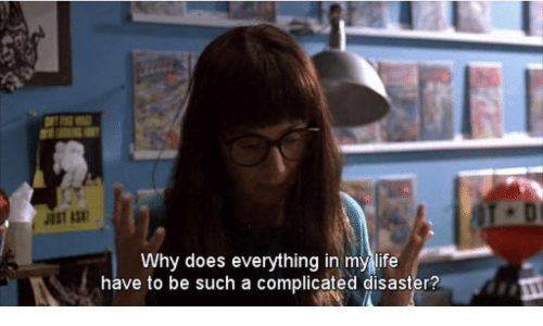 Life, Why, and Such: JUST AS  Why does everything in my life  have to be such a complicated disaster?