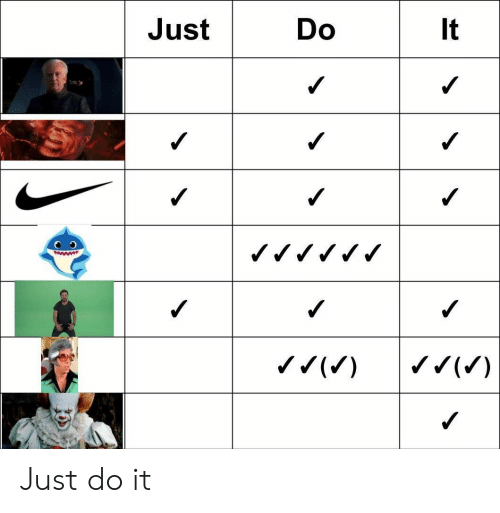Just do it: Just  Do  It  www  ( Just do it