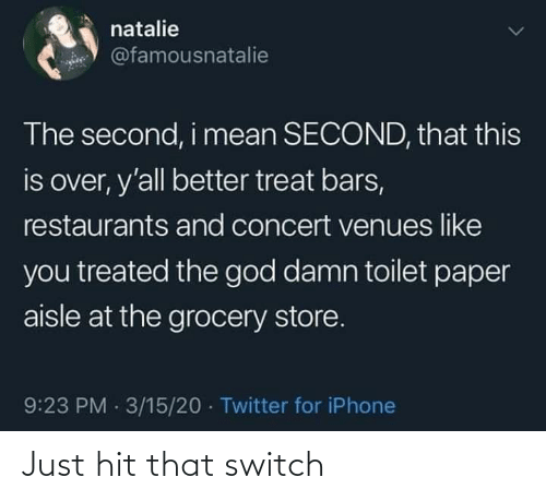 switch: Just hit that switch