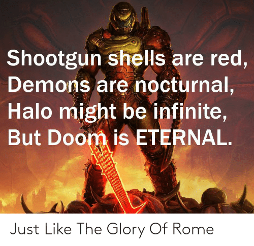 glory: Just Like The Glory Of Rome