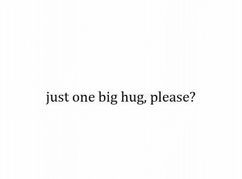 Big, One, and Hug: just one big hug, please?