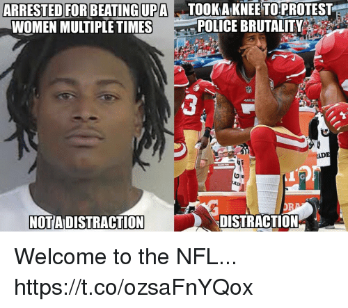 Proteste: KAKNEE PROTESTE  POLICE BRUTALITY  TO  ARRESTED FOR BEATINGUPATO  WOMEN MULTIPLE TIMES  ADE  ADI  NOTA DISTRACTION  DISTRACTION* Welcome to the NFL... https://t.co/ozsaFnYQox