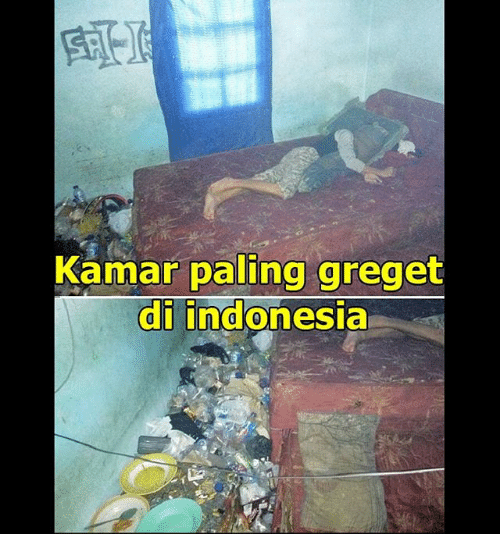 Indonesia and Indonesian (Language): Kamar paling greget  al indonesia