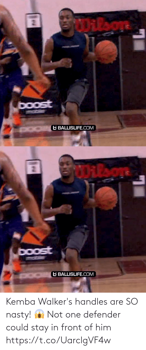 Stay In: Kemba Walker's handles are SO nasty! 😱 Not one defender could stay in front of him https://t.co/UarclgVF4w