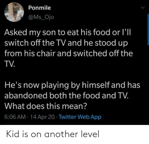 kid: Kid is on another level