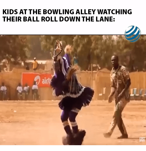 Bowling, Kids, and Down: KIDS AT THE BOWLING ALLEY WATCHING  THEIR BALL ROLL DOWN THE LANE:  airls  LTC