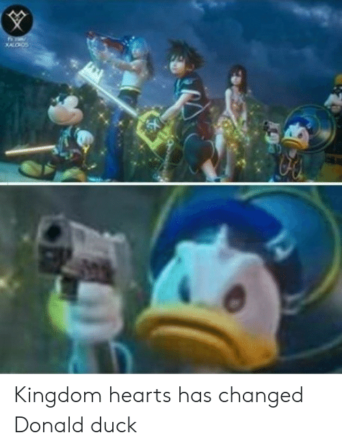 donald duck: Kingdom hearts has changed Donald duck