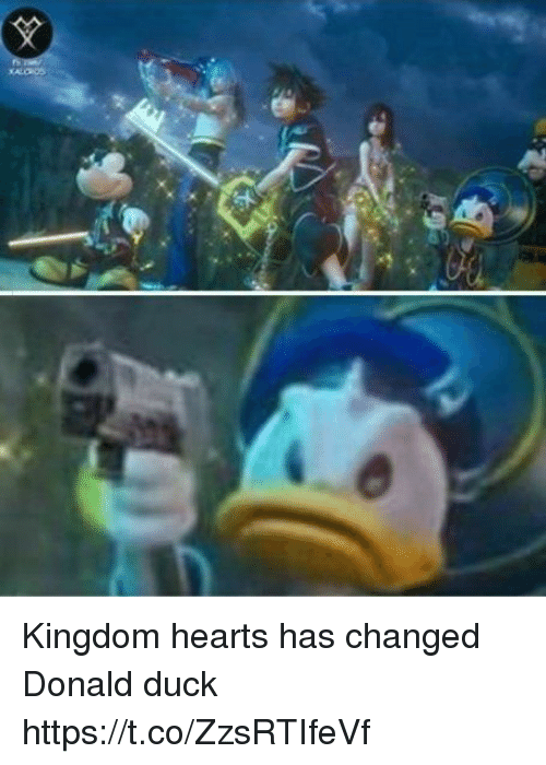 donald duck: Kingdom hearts has changed Donald duck https://t.co/ZzsRTIfeVf