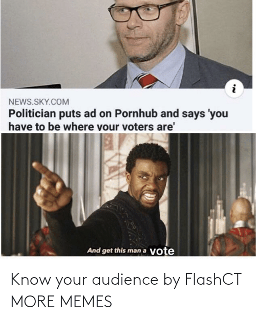 audience: Know your audience by FlashCT MORE MEMES