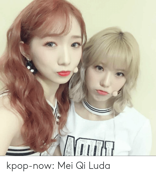 Tumblr, Blog, and Http: kpop-now:  Mei Qi  Luda