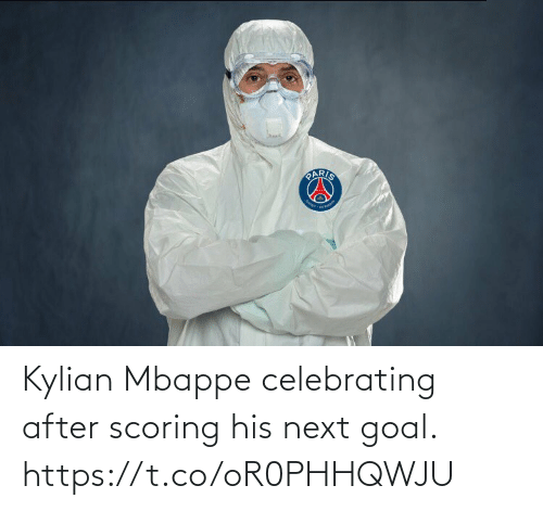 next: Kylian Mbappe celebrating after scoring his next goal. https://t.co/oR0PHHQWJU