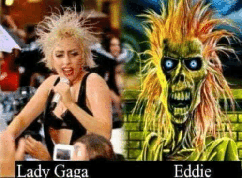 Lady Gaga, Gaga, and Lady: Lady Gaga  Eddie