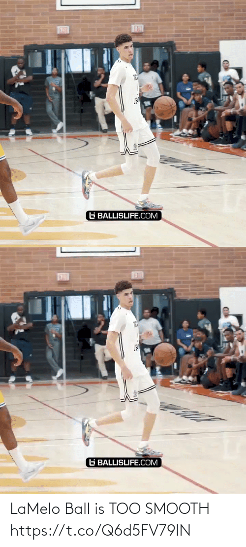 Smooth: LaMelo Ball is TOO SMOOTH https://t.co/Q6d5FV79lN