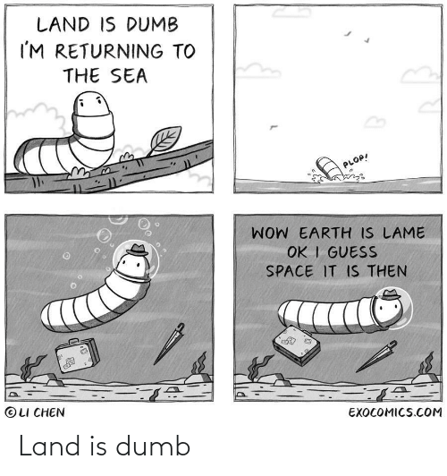Dumb: Land is dumb