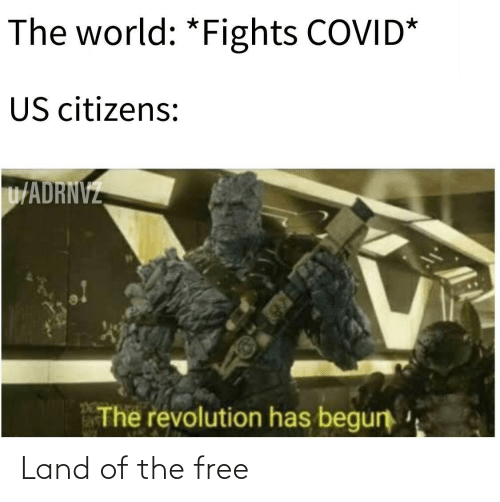 Free: Land of the free