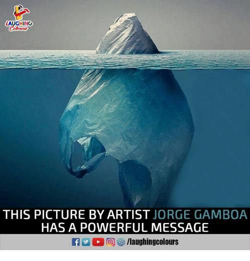 Powerful, Indianpeoplefacebook, and Artist: LAUGHING  THIS PICTURE BY ARTIST JORGE GAMBOA  HAS A POWERFUL MESSAGE