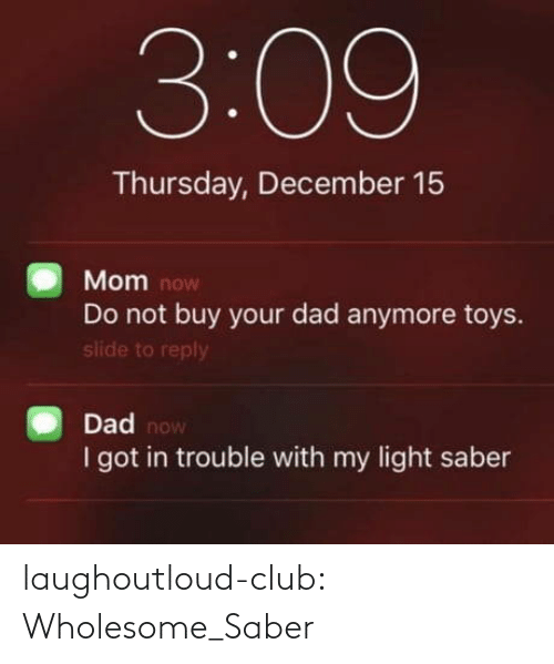 Wholesome: laughoutloud-club:  Wholesome_Saber