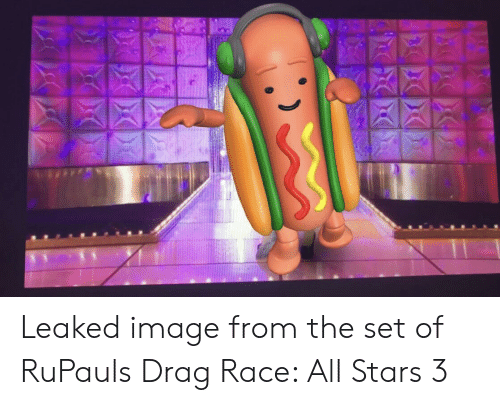Image, Stars, and Race: Leaked image from the set of RuPauls Drag Race: All Stars 3