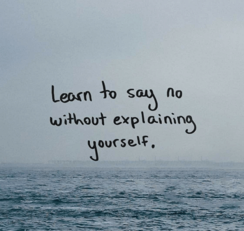 Say, Without, and Learn: Learn to say  without explaining  Jourself