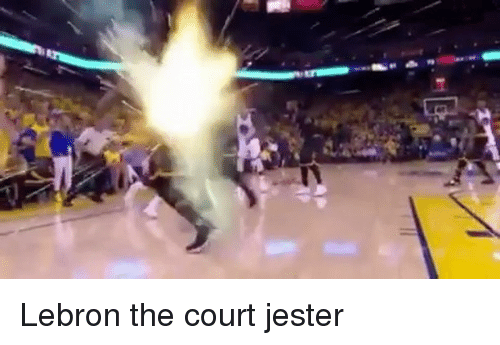 jester: Lebron the court jester