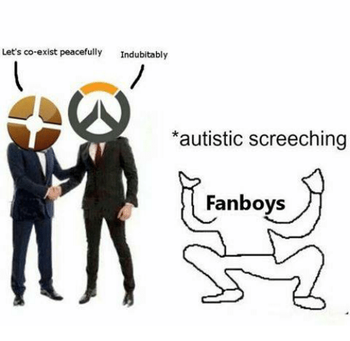 Video Games, Peace, and Fanboys: Let's co-exist peacefully  Indubitably  *autistic screeching  Fanboys