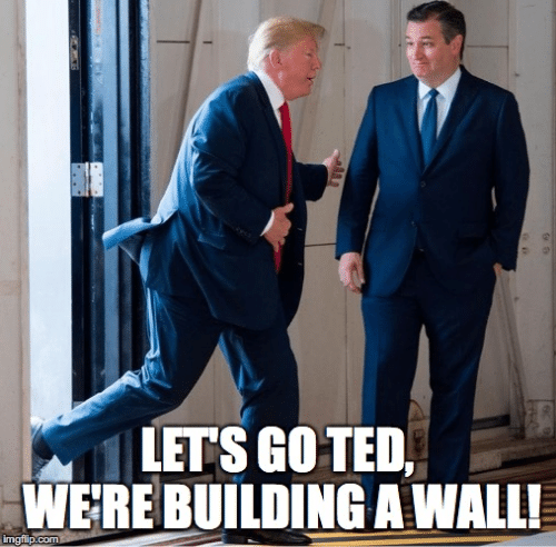 Memes, 🤖, and Com: LETS GOTED,  WERE BUILDING A WALL!  imgflip.com