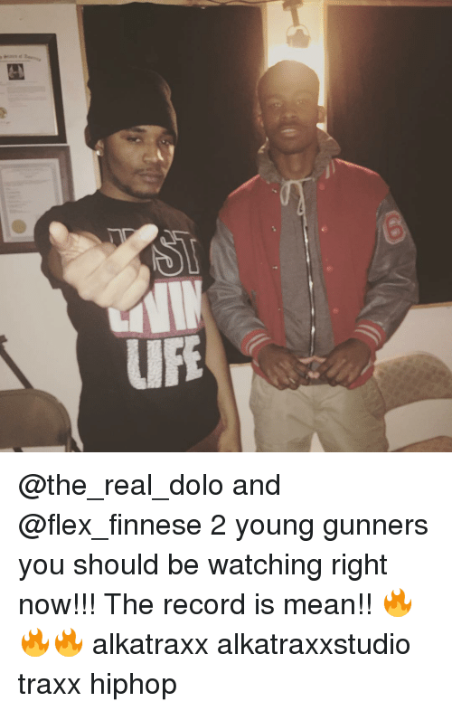 Finnesing: LIFE @the_real_dolo and @flex_finnese 2 young gunners you should be watching right now!!! The record is mean!! 🔥🔥🔥 alkatraxx alkatraxxstudio traxx hiphop