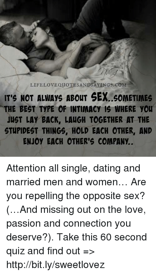 Should A Married Person Have A Close Friend Of The Opposite Sex