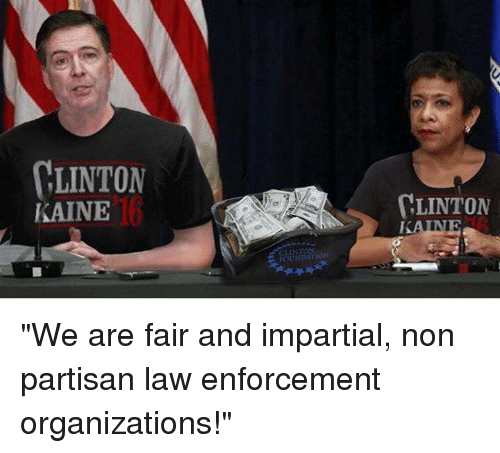 "Memes, Rain, and 🤖: LINTON  KAINE  LINTON  RAINE ""We are fair and impartial, non partisan law enforcement organizations!"""