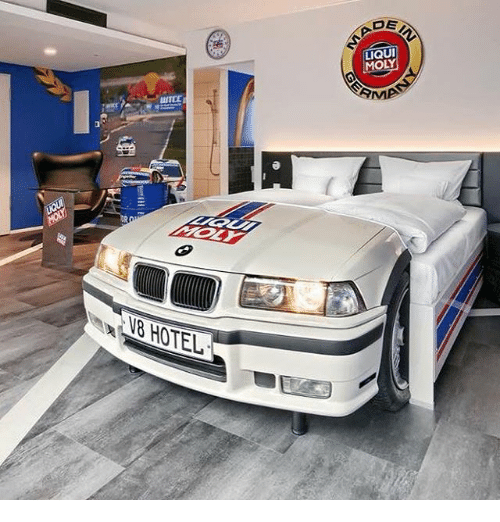 Hotel and Liqui Moly: LIQUI  MOLY  MP  8 HOTEL