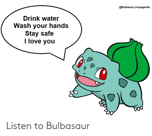 listen: Listen to Bulbasaur