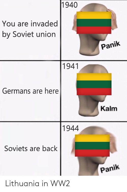 Lithuania: Lithuania in WW2
