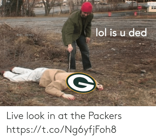 Live: Live look in at the Packers https://t.co/Ng6yfjFoh8