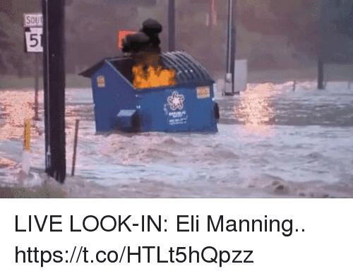 Eli Manning, Football, and Nfl: LIVE LOOK-IN: Eli Manning.. https://t.co/HTLt5hQpzz