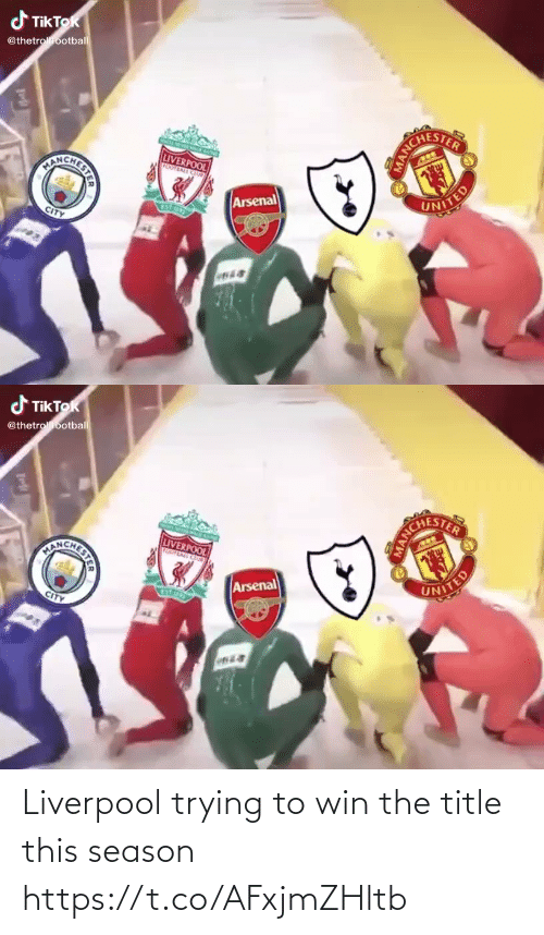 Trying: Liverpool trying to win the title this season https://t.co/AFxjmZHltb