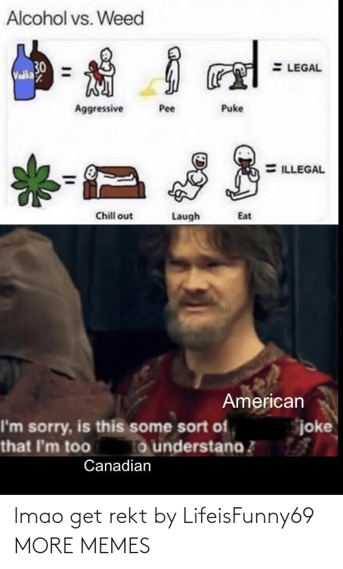 Rekt: lmao get rekt by LifeisFunny69 MORE MEMES