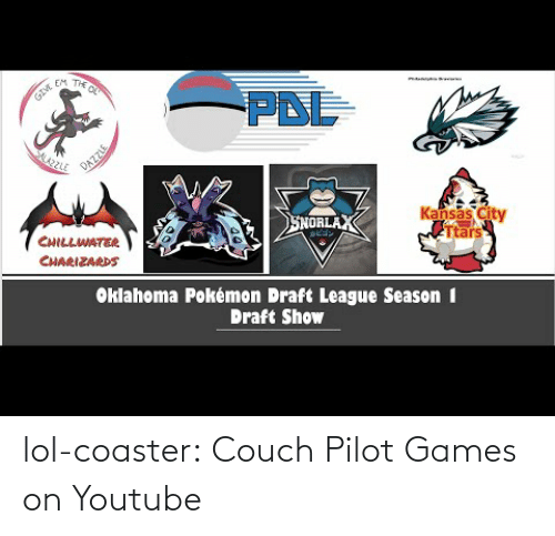 Games: lol-coaster:  Couch Pilot Games on Youtube