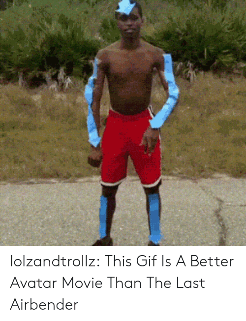 Gif, The Last Airbender, and Tumblr: lolzandtrollz:  This Gif Is A Better Avatar Movie Than The Last Airbender