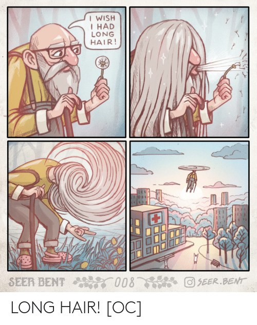 Hair: LONG HAIR! [OC]
