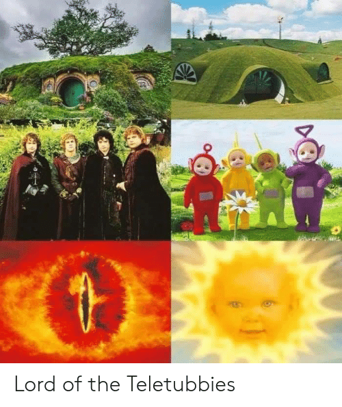 Teletubbies, Lord, and Lord of The: Lord of the Teletubbies