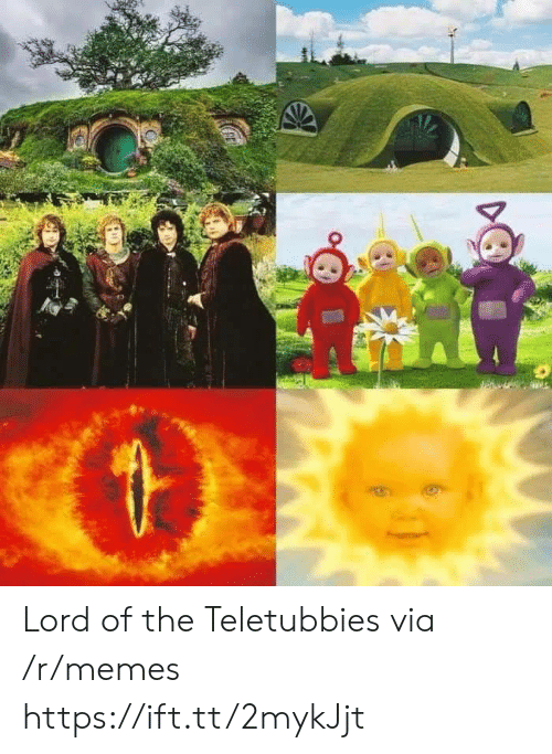 Memes, Teletubbies, and Lord: Lord of the Teletubbies via /r/memes https://ift.tt/2mykJjt